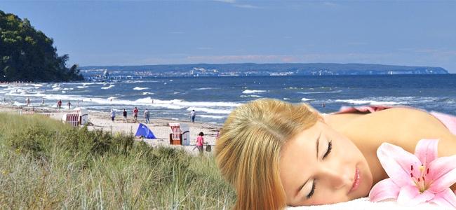 Günstiger Wellnessurlaub in Baabe auf Rügen