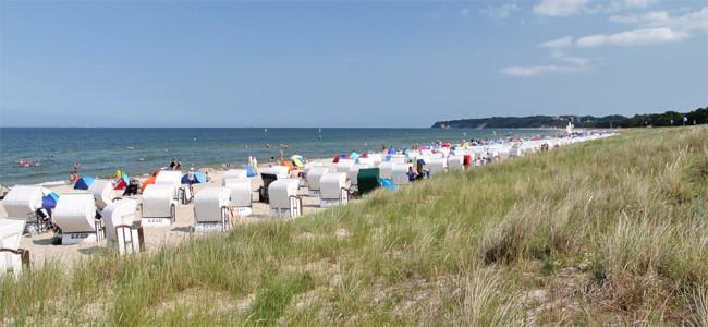 Sommerurlaub Baabe Rügen
