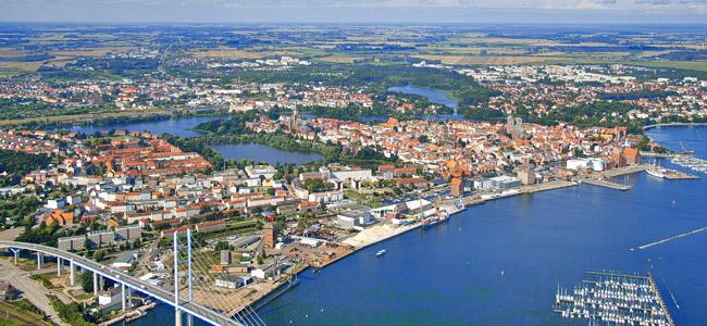 Städte Kurzreise nach Stralsund
