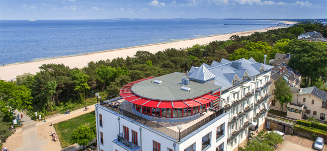 Ostseeurlaub / Kurzurlaub im Strandhotel Heringsdorf