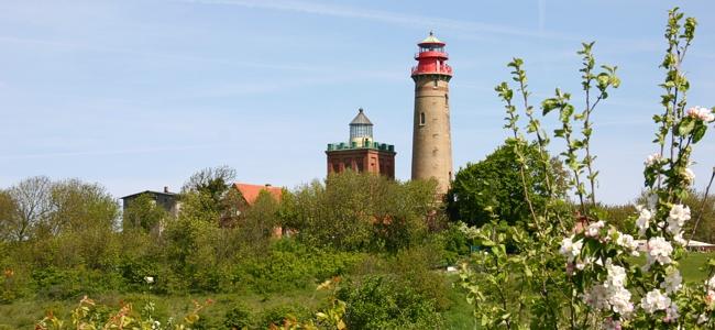 Im Rügen Urlaub: Die Leuchttürme von Kap Arkona
