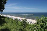 Strand und Seebrücke Koserow