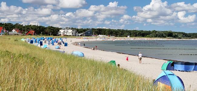 Strand Juliusruh - Reisebericht Oster-Wochenende Glowe Rügen