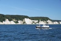 Kreideküste Rügen Fischkutter