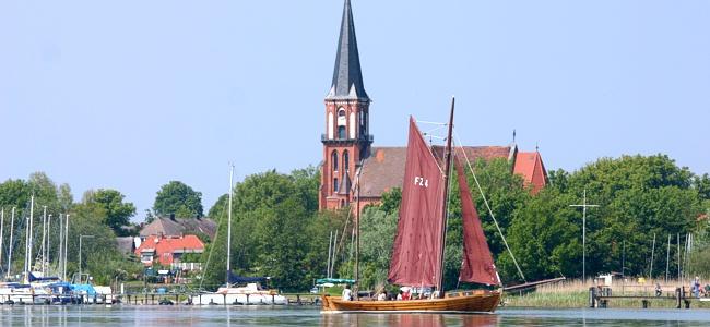 Zeesbootfahrt im Kurzurlaub auf Fischland-Darss-Zingst